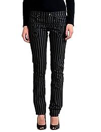 Gianfranco Ferre GF Women's Striped Slim Jeans US 26 IT 40