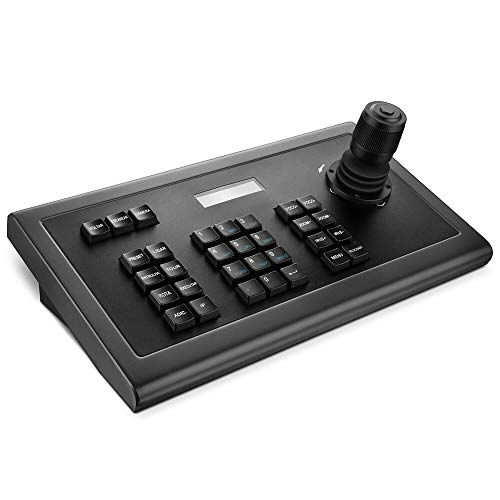Network Keyboard LEFTEK,IP Keyboard 4D IP PTZ Controller wit