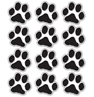 Amazoncom RED PAW PRINTS Clear Vinyl Stickers Sheet Of - Where to print stickers