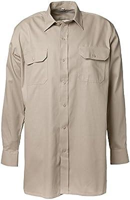 Planam 409039 camisa de manga larga (Serge talla 39/40, color caqui: Amazon.es: Bricolaje y herramientas