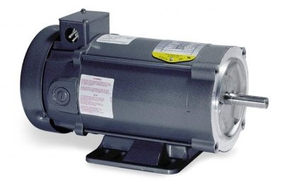 Baldor Electric, CD3475.75HP, 1750RPM, 90V, 56C Frame, C-Face Flange, Foot Mount, TEFC, General Purpose ()