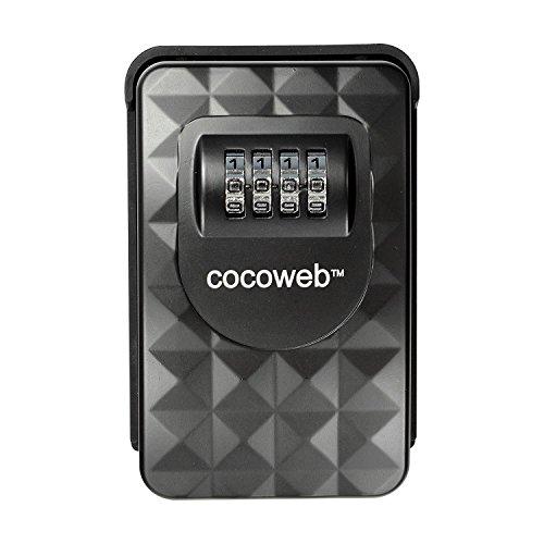 Cocoweb HKPV-W | Heavy Duty Combination Storage Lock Box -...