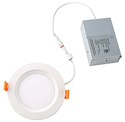 YAY slim LED panel - 4 inch - with junction box - ETL list