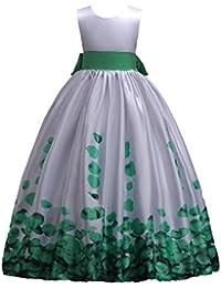 b9e641597495d Baby Girls Dress Flower Princess Wedding Formal Party Lace Tutu Clothes