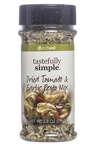 - Tastefully Simple Dried Tomato & Garlic Pesto Mix