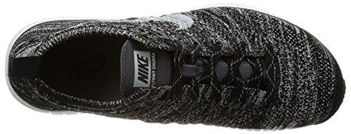 Nike Heren Gratis Flyknit Chukka Zwart / Wit Vliegknit