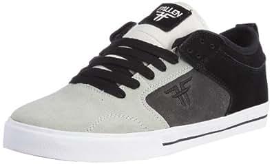 Fallen Men's Clipper Skate Shoe, Black/Dark Grey/Light Grey, 10 M US
