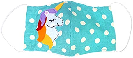 Alwan Washable and Reusable Face Mask for Girls ages 7 to 12 - FMDTSUN