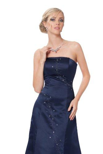 en sin colores de cuerpo del SEXYHER pero y rojo elegante entero Encuadre Azul Simple medianoche vestido de de noche tirantes azul xFwqwAOH