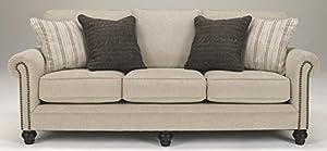 Awesome Ashley Furniture Signature Design   Milari Sofa   Classic Style Couch    Linen