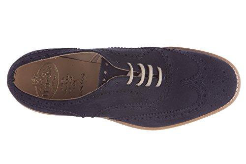 Churchs Herrenschuhe Wildleder Business Schuhe Herren Schnürschuhe downton blu