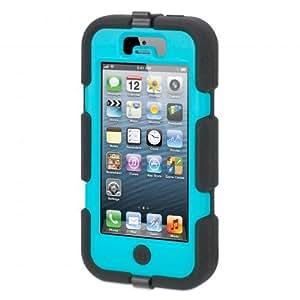 Griffin Survivor Belt Clip iPhone 5 - fundas para teléfonos móviles Negro, Azul