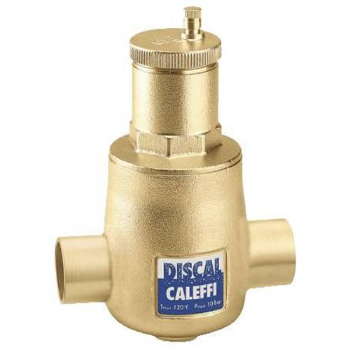 Caleffi 551028A Dismal Air Separator with 1/2-Inch FNPT Bottom Thread, 1-Inch Sweat Connections by Caleffi