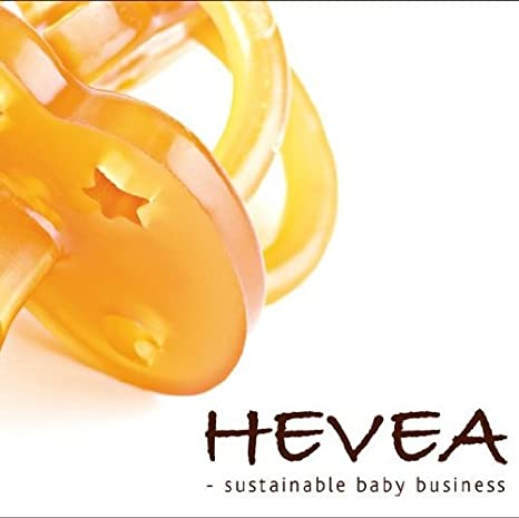 Hevea Chupete sin BPA Auto (anatómico, 3 +): Amazon.es: Bebé