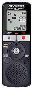Olympus VN-7700 - Grabadora Digital VN-7700 (2 GB y funda), color negro