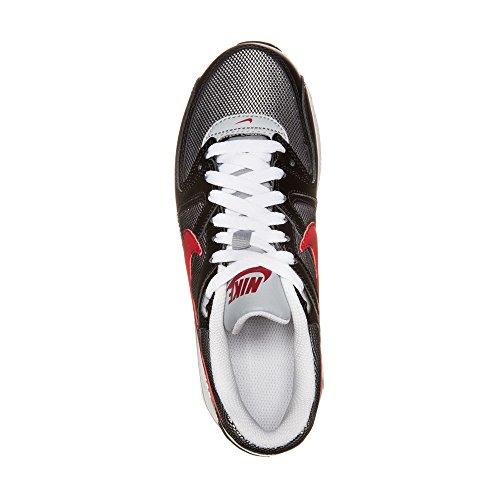 Nike Air Max Command (gs) 407759 Ragazzi Scarpe Da Corsa Nere (nero-bianco-rosso)