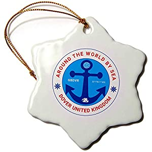 41QlZ-5OWNL._SS300_ 75+ Anchor Christmas Ornaments