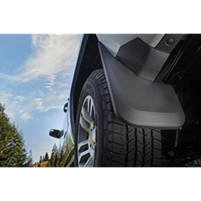 Husky Liners Fits 2005-10 Jeep Grand Cherokee Custom Front Mud Guards: Automotive