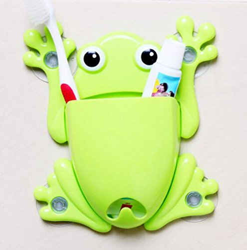 RuiChy Frog Toothbrush Holder Suction