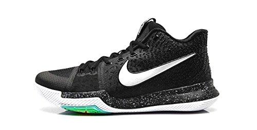 sports shoes aaee4 70e94 NIKE Kid s Kyrie 3 GS, Black Ice-Black Metallic Silver-White,