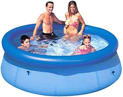 SLONG Piscina Inflable 366 x 366 x 91 cm Centro de natación ...