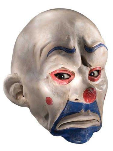 Rubie's Costume Batman The Dark Knight Adult Joker Latex Clown Mask, White, One Size
