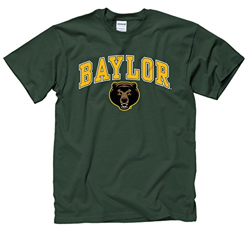 - Campus Colors Baylor Bears Adult Arch & Logo Gameday T-Shirt - Green, XX-Large