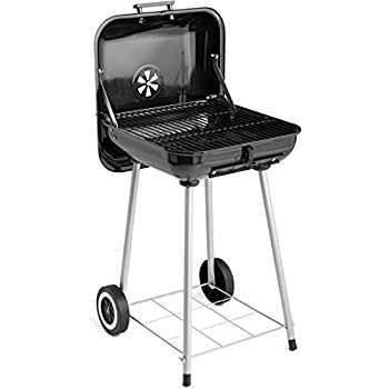 """Backyard Grill 17.5"""" Charcoal Grill Cookout With Its 16-Burger Cooking Capacity"""