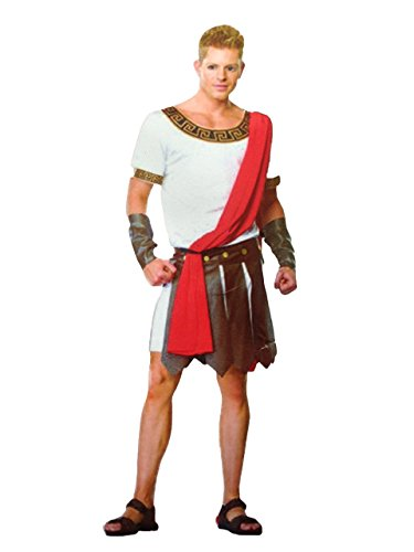 Rubber Johnnies   , Adult, Men's Caesar Roman Emperor Spartacus Fancy Dress -