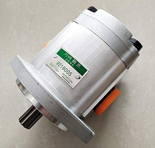 Compatible with Gear Pump 4276918 9218005 for Hitachi EX200-3,EX200-5,EX220-3,EX220-5