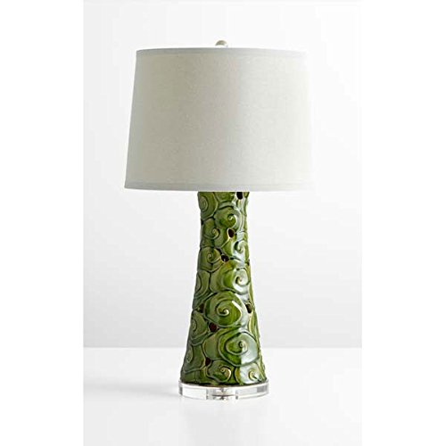 Price comparison product image Mid Century Modern Table Lamp Green