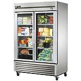 True TS-49FG-LD 2 Door Reach-In Freezer