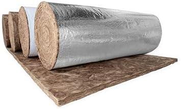 2 3 16 R6 Fiberglass Duct Insulation Wrap Fsk Foil Faced 4 Wide X 75 Length Amazon Com