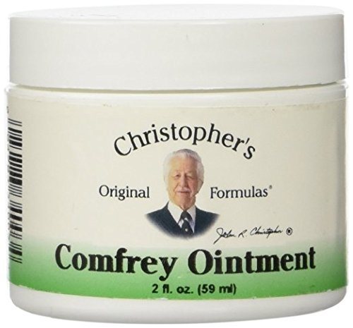 Christophers Comfrey Ointment (Dr. Christopher's Comfrey Ointment, BEST 3Pack (2 Ounce ))