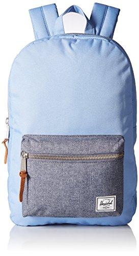 Herschel Supply Co. Settlement Mid-Volume Backpack, Hydrangea/Dark Chambray Crosshatch, One Size