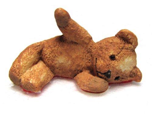 Teddy Robinson Centimental Bear Lying Down Figurine By Peter Fagan (Lying Teddy Bear)