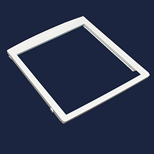 Part Glass Upper - Frigidaire 240350702 Refrigerator Upper Crisper Pan Cover