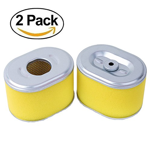 HEYZLASS 2 Pack 17210-ZE1-505 Air Filter, Replace for Honda GX160 GX200 GX140 Engine OEM Air Cleaner and More, Plus Pre (Gx160 Engine)