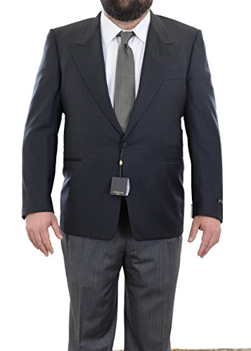 corneliani-44r-54-gray-super-130s-wool-morning-tuxedo-suit-with-peak-lapels