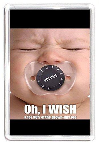 Para bebé chupete chupete de sonido Control de volumen imán ...