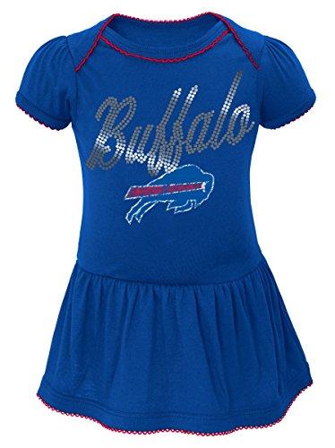Outerstuff Buffalo Bills NFL Dazzled Infant Girls Bodysuit Dress f3bc0bbc4