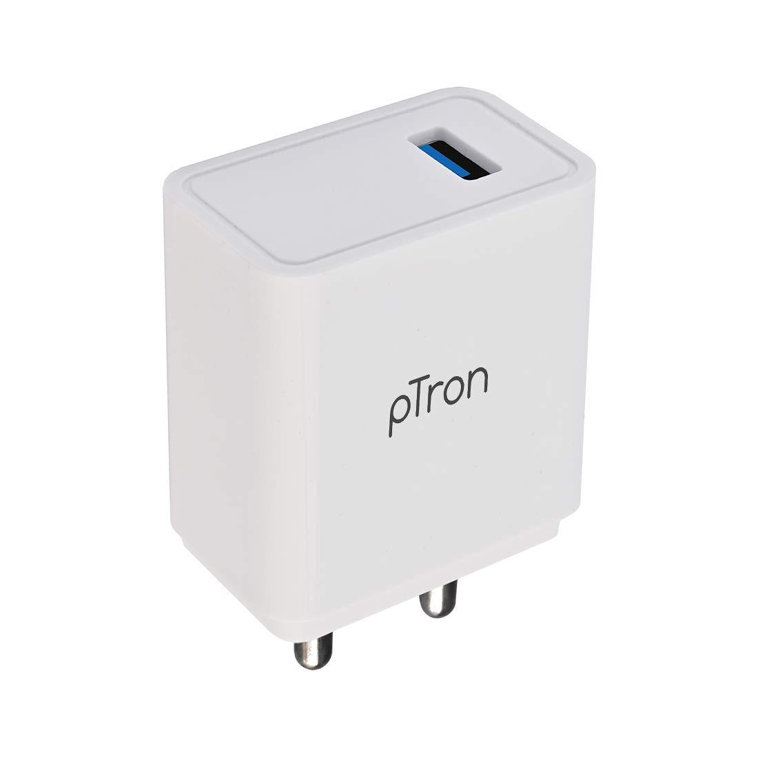pTron 17W Volta Single USB Smart Charger $3.36 Coupon