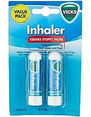 Vicks Nasal Decongestant Inhaler, 0.5ml (Pack of 2)