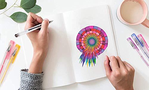 Shuttle Art 260 Colors Gel Pens Set 220% Ink Gel Pen for Adult Coloring Books Art Markers 130 Colored Gel Pens Plus 130 Refills by Shuttle Art (Image #5)