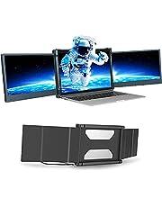 """Teamgee Draagbare monitor voor laptop, 12"""" Full HD 1080p IPS display, Dual Triple Monitor Screen Extender, compatibel met 13""""-16"""" Mac Windows Chrome laptops"""
