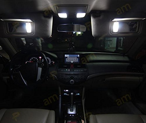Partsam 2009 2015 Toyota Venza White Interior Led Package