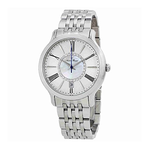 Lucien Piccard Womens Crystal - Lucien Piccard Women's LP-40004-22S Sofia Analog Display Quartz Silver Watch