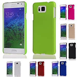 Matte Protective Hard Case for Samsung Galaxy Alpha G850 (Assorted Colors) , Golden