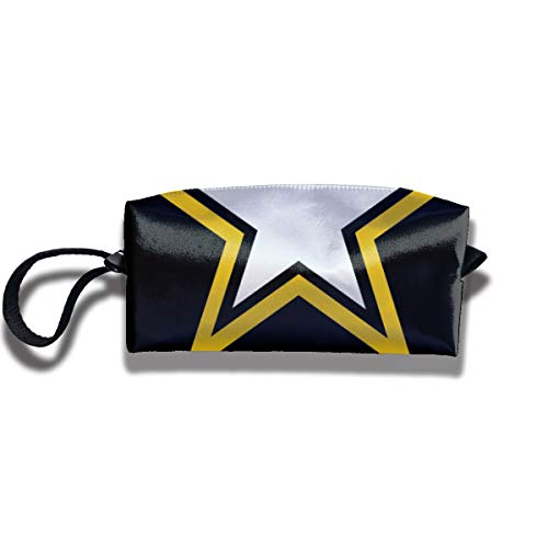 Maple Memories US Army Makeup Cosmetic Bags for Men/Women Travel Toiletry Bag Oxford Pencil Case ()