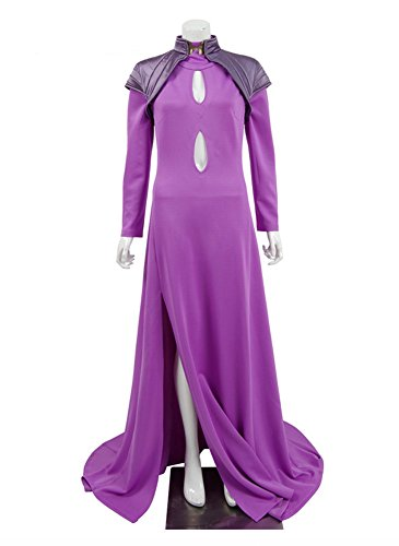Damen Lila Fancy Kleid Halloween Party Kleider Cosplay Kostüme Lila ...
